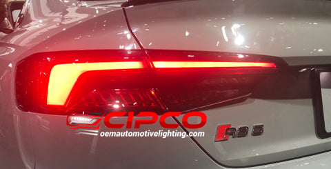 2018 2019 2020 2021 Audi A5 S5 RS5 Left Driver Side Brand New Used OEM Tail Light, Tail Lamp from OEM Automotive Lighting.com