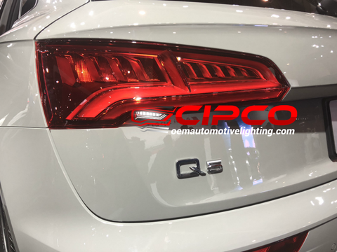2018 2019 Audi Q5 SQ5 Left Driver Side New, Used OE, OEM Back Tail Light, Tail Lamp Assembly Replacement from OEM Automotive Lighting.com