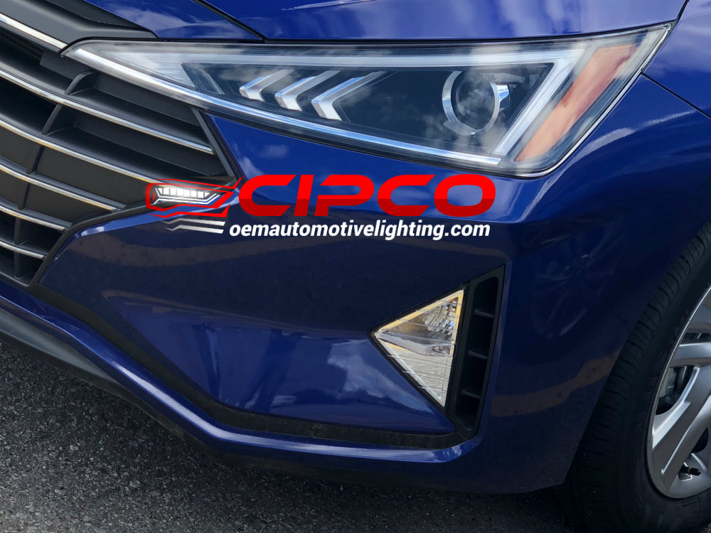 2019 Hyundai Elantra Headlight Headlamp Assembly