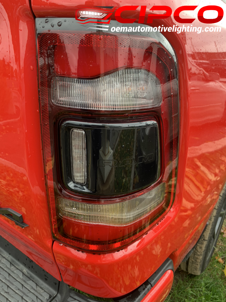 2019 2020 Dodge Ram 1500 Tail Light, Tail Lamp Assembly ...