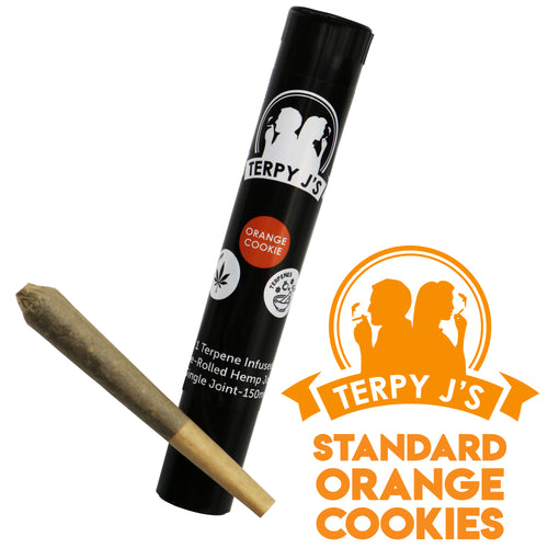 Standard Orange Cookies CBD Hemp Joint 1 Pack