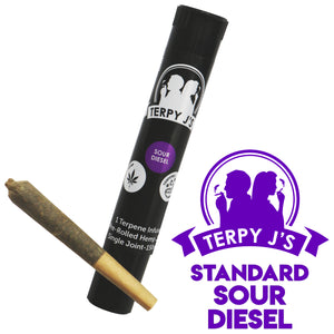 Standard Sour Diesel CBD Hemp Joint 1 Pack