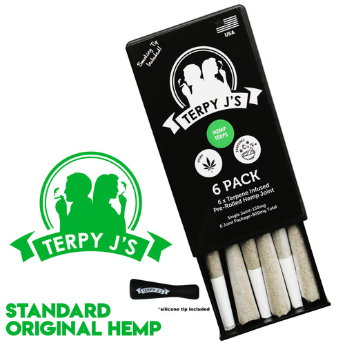 Standard Original Hemp CBD Hemp Joint 6 Pack