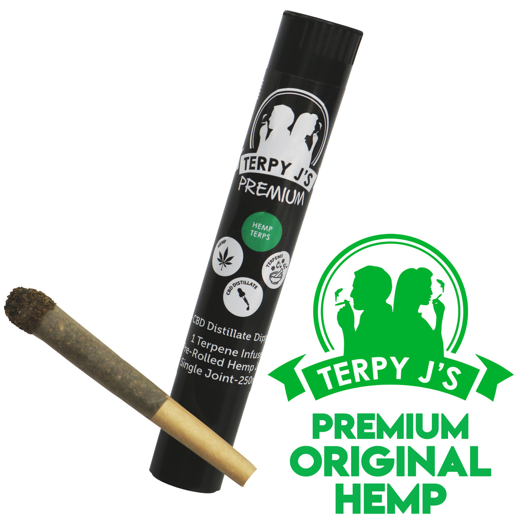 Premium Original Hemp CBD Hemp Joint 1 Pack