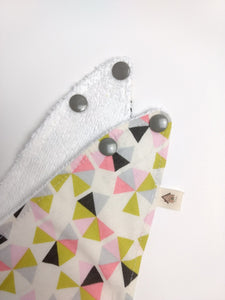 Mixed Triangles  Drool Bib | RTS