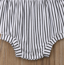 Dani Striped Romper | RTS