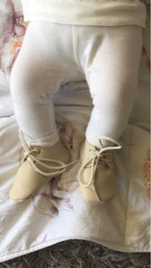 Oxford Booties | Beige | RTS
