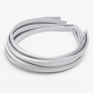 Satin Covered Headbands- 19 Color Options