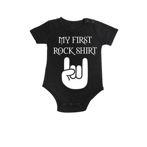 My First Rock Shirt- Onesie
