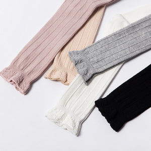 Ruffle Top Knee High Socks | 4 Color Options | RTS