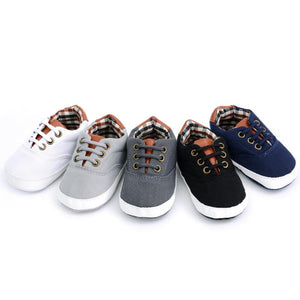 Jake Canvas Sneaker- 5 Color Options
