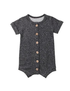 Tommy Romper- Gray