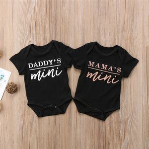 Black Daddy's Mini Onesie