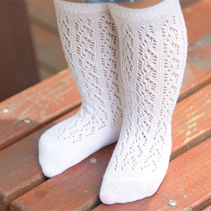 Vintage Knee High Socks- 5 Color Options
