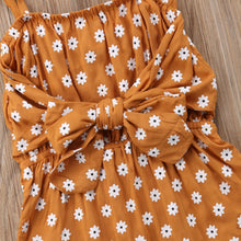 Floral Bowknot Romper