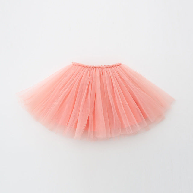 Tulle Toddler Skirt | Peachy Pink |RTS