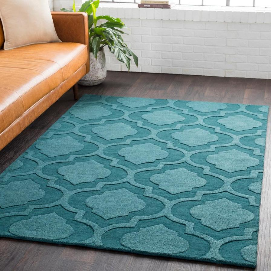 Solid & Border Indoor Area Rugs