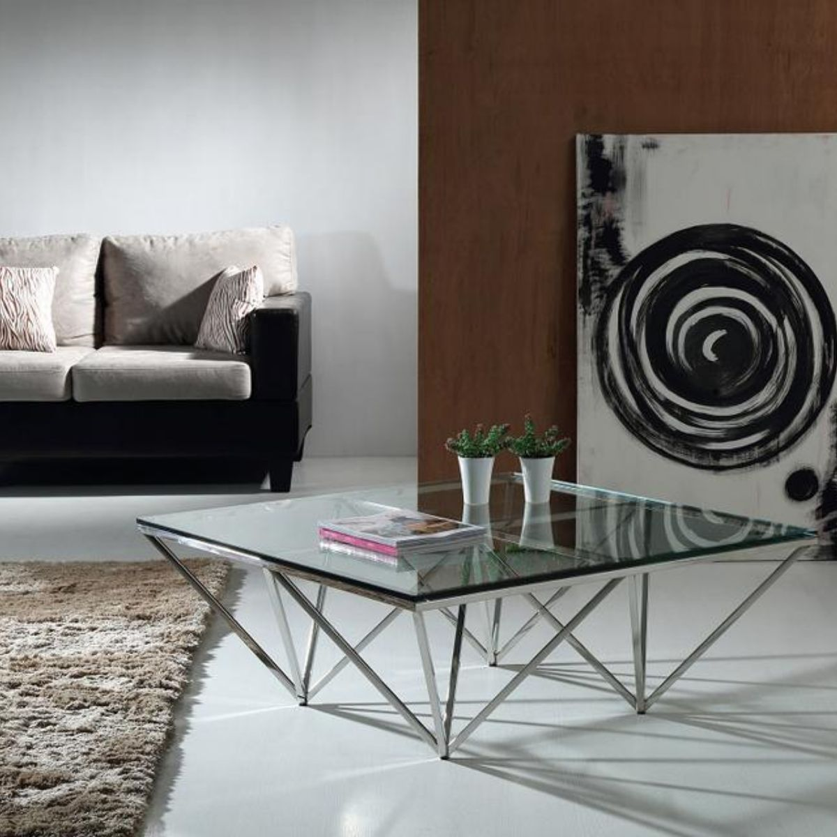 VIG Furniture - Coffee Table - Living Room Table - Wall2Wall Furnishings