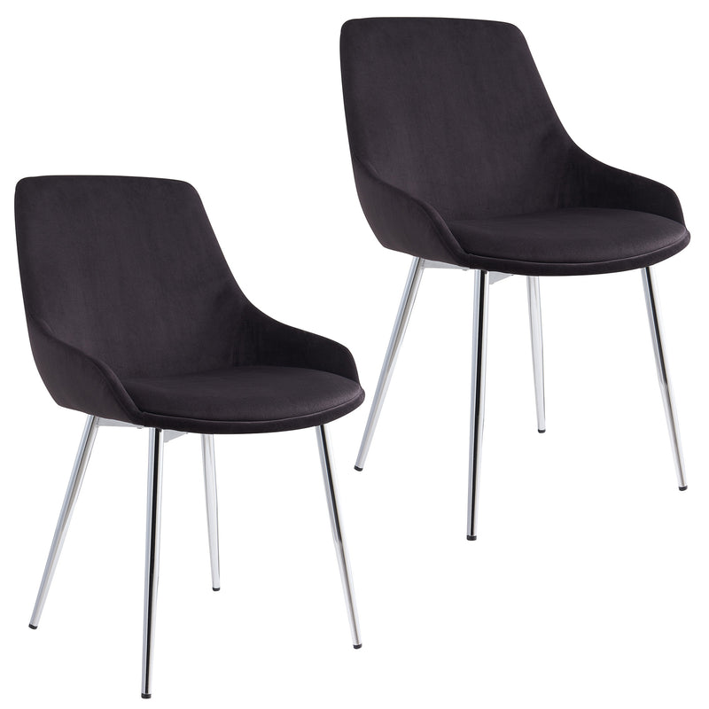 Cassidy Side Chair, Set Of 2-Side Chair, Set Of 2-Worldwide Homefurnishings Inc-Wall2Wall Furnishings