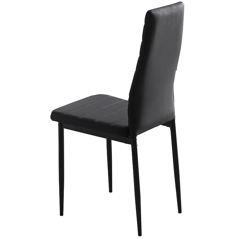 Contra Side Chair, Set Of 6-Side Chair, Set Of 6-Worldwide Homefurnishings Inc-Wall2Wall Furnishings