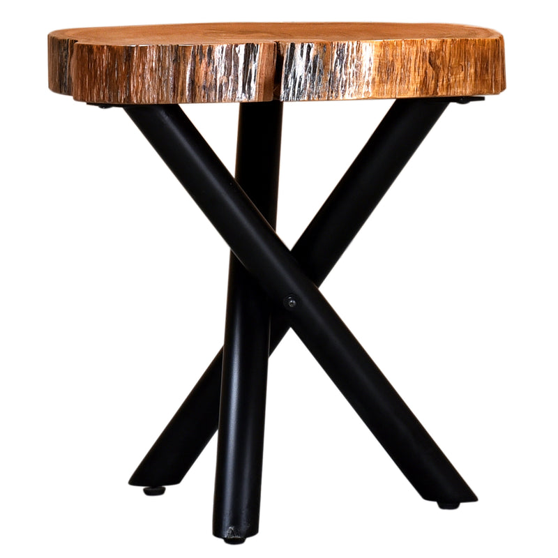 Shlok Accent Table-Accent Table-Worldwide Homefurnishings Inc-Wall2Wall Furnishings
