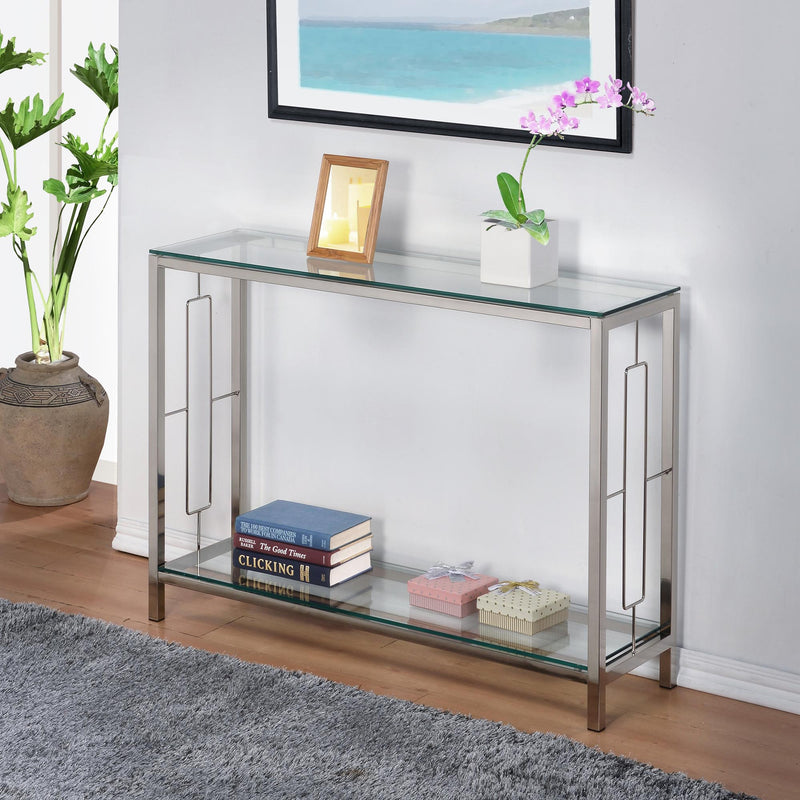 Athena Console Table-Console Table-Worldwide Homefurnishings Inc-Wall2Wall Furnishings