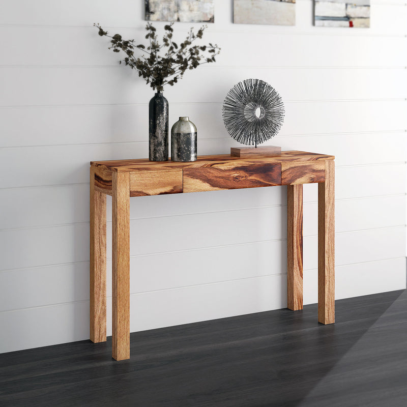 Idris Console/Desk-Console Table-Worldwide Homefurnishings Inc-Wall2Wall Furnishings