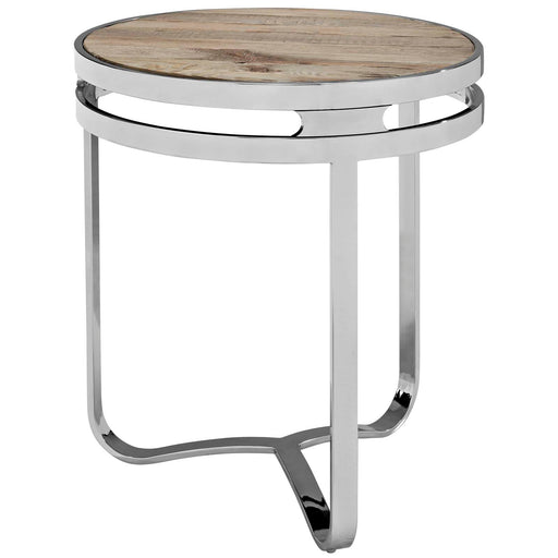 Provision Wood Top Side Table-Side Table-Modway-Wall2Wall Furnishings