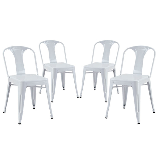 Reception Dining Side Chair Set of 4-Dining Chair-Modway-Wall2Wall Furnishings