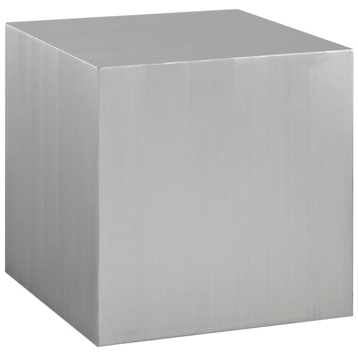 Cast Stainless Steel Side Table-Side Table-Modway-Wall2Wall Furnishings