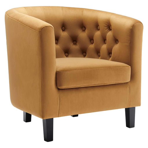 Prospect Performance Velvet Armchair-Armchair-Modway-Wall2Wall Furnishings