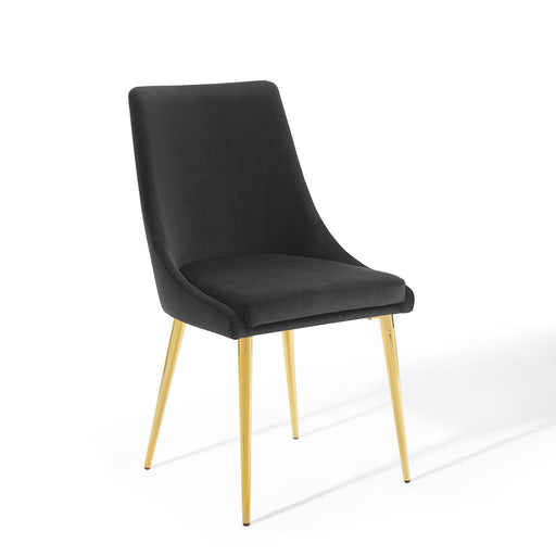 Viscount Modern Accent Performance Velvet Dining Chair-Dining Chair-Modway-Wall2Wall Furnishings