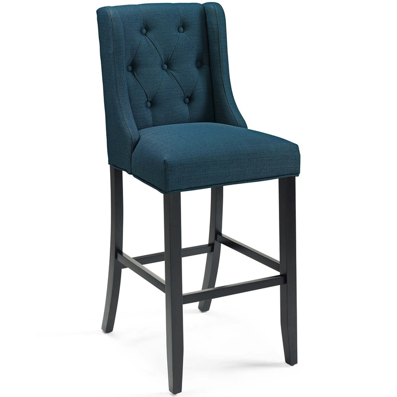 Baronet Tufted Button Upholstered Fabric Bar Stool-Bar Stool-Modway-Wall2Wall Furnishings