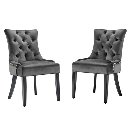 Regent Tufted Performance Velvet Dining Side Chairs - Set of 2-Dining Chair-Modway-Wall2Wall Furnishings