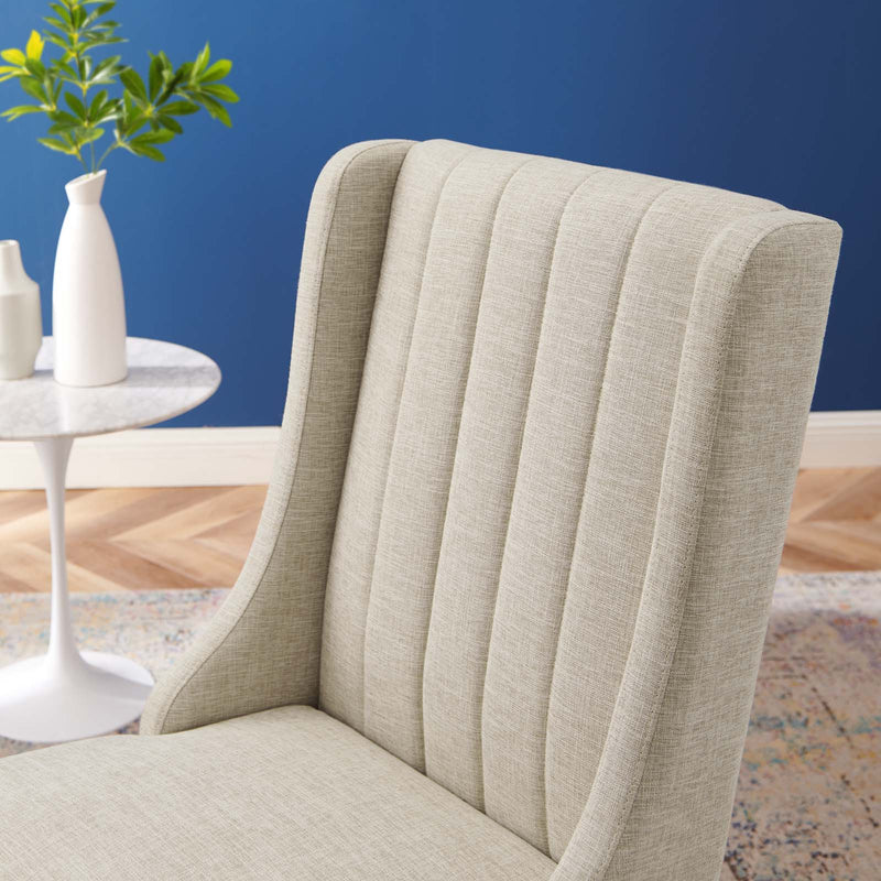 Renew Parsons Fabric Dining Side Chairs - Set of 2-Dining Chair-Modway-Wall2Wall Furnishings