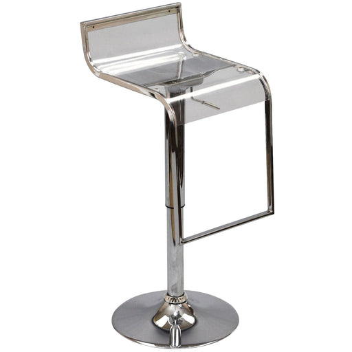 LEM Acrylic Bar Stool-Bar and Counter Stools-Modway-Wall2Wall Furnishings