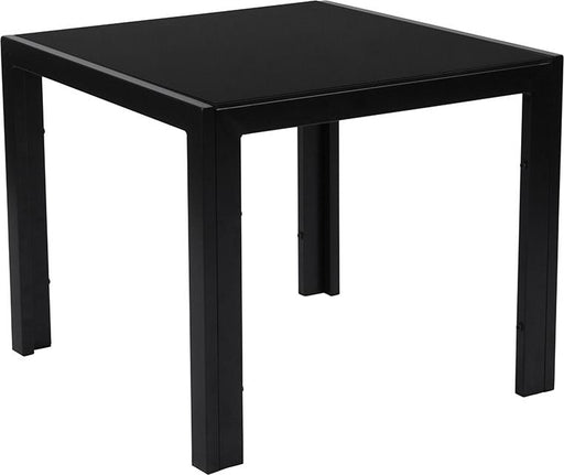 Franklin Collection Sleek End Table with Metal Legs-End Table-Flash Furniture-Wall2Wall Furnishings