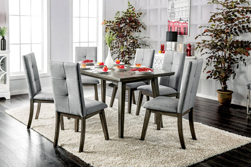 Halena Mid-Century Modern Casual Dining Table-dining table-Furniture of America-Wall2Wall Furnishings