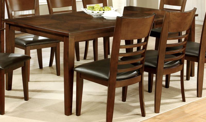 "Othello Transitional 78"" Rectangle Dining Table-dining table-Furniture of America-Wall2Wall Furnishings"