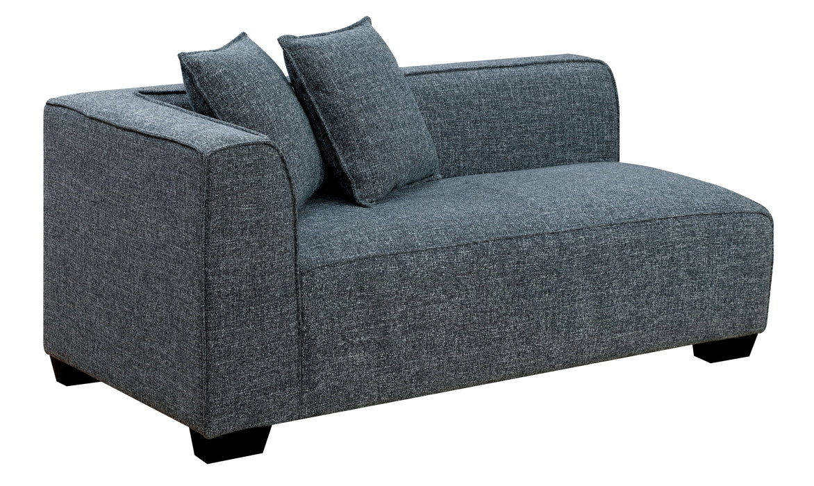 Sorvino Contemporary Sectional Sofa-sectional-Furniture of America-Wall2Wall Furnishings