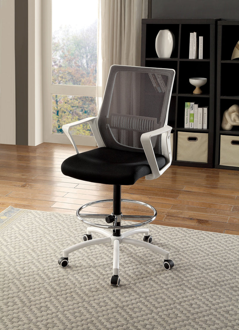 Umah Contemporary Style Height-Adjustable Swivel Office Chair-office chair-Furniture of America-Wall2Wall Furnishings
