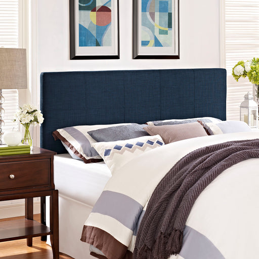 Oliver Upholstered Fabric Headboard-Headboard-Modway-Wall2Wall Furnishings