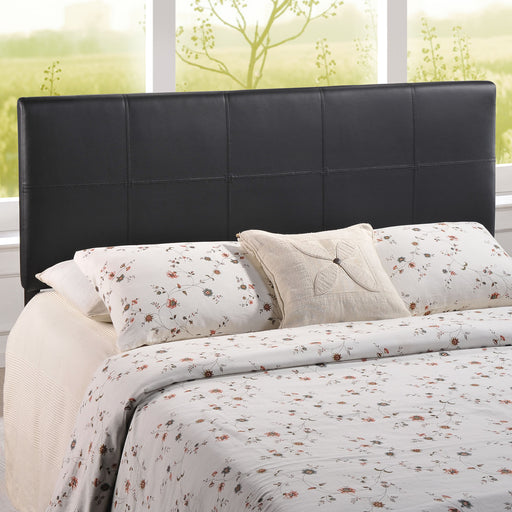 Oliver Upholstered Vinyl Headboard-Headboard-Modway-Wall2Wall Furnishings