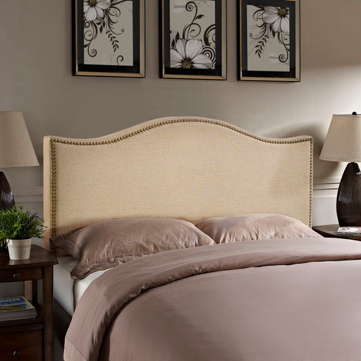 Curl Nailhead Upholstered Headboard-Headboard-Modway-Wall2Wall Furnishings