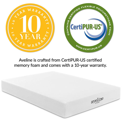 Aveline Memory Foam Mattress-Mattress-Modway-Wall2Wall Furnishings