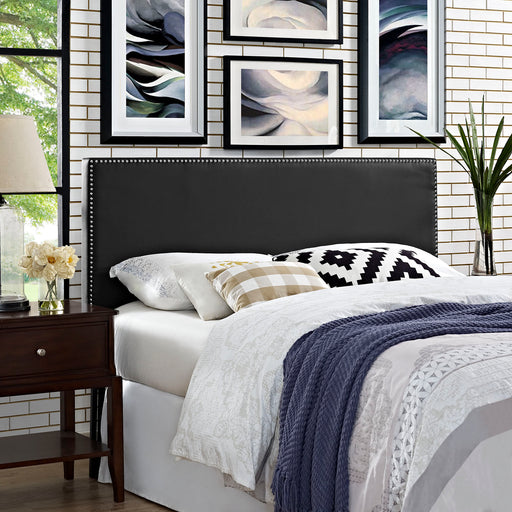 Phoebe Upholstered Vinyl Headboard-Headboard-Modway-Wall2Wall Furnishings