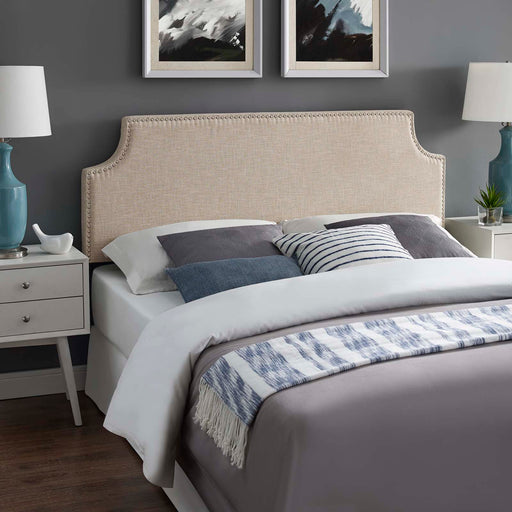 Laura Upholstered Fabric Headboard-Headboard-Modway-Wall2Wall Furnishings