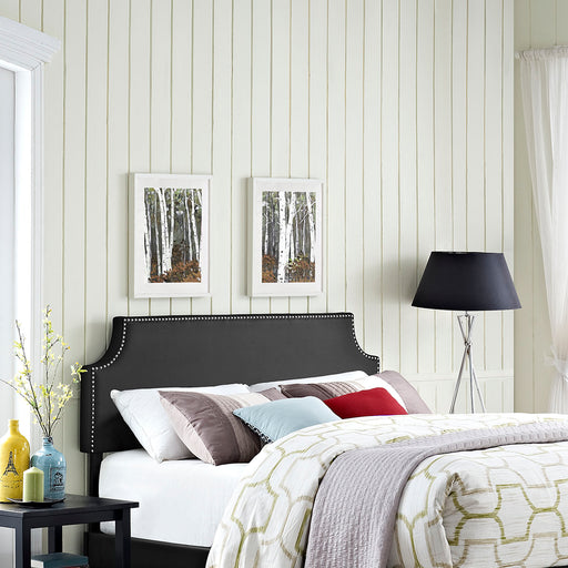 Laura Upholstered Vinyl Headboard-Headboard-Modway-Wall2Wall Furnishings