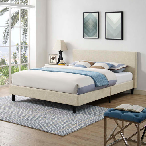 Anya Bed-Bed-Modway-Wall2Wall Furnishings