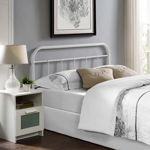 Serena Steel Headboard-Headboard-Modway-Wall2Wall Furnishings